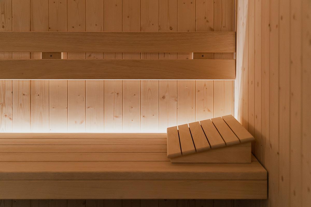 lettino sauna Welive